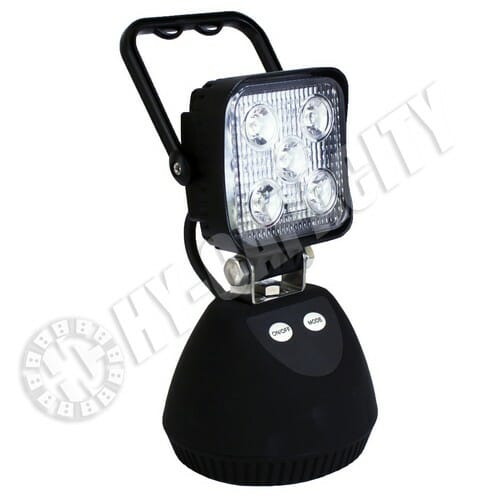 Hy Capacity Led Magnetic Shop Light 15w Rechargeable